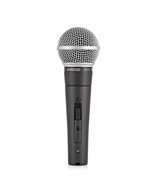 Shure SM58-SE Dynamic Microphone with Switch