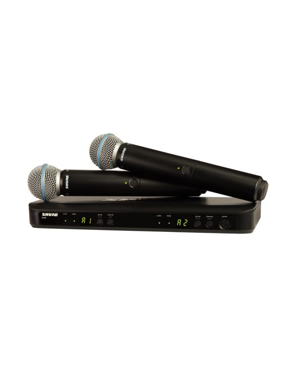 Shure BLX288UK / BETA58 Dual Handheld Wireless Microphone System