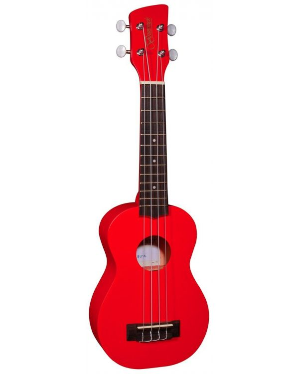 Brunswick Soprano Ukulele Red Satin