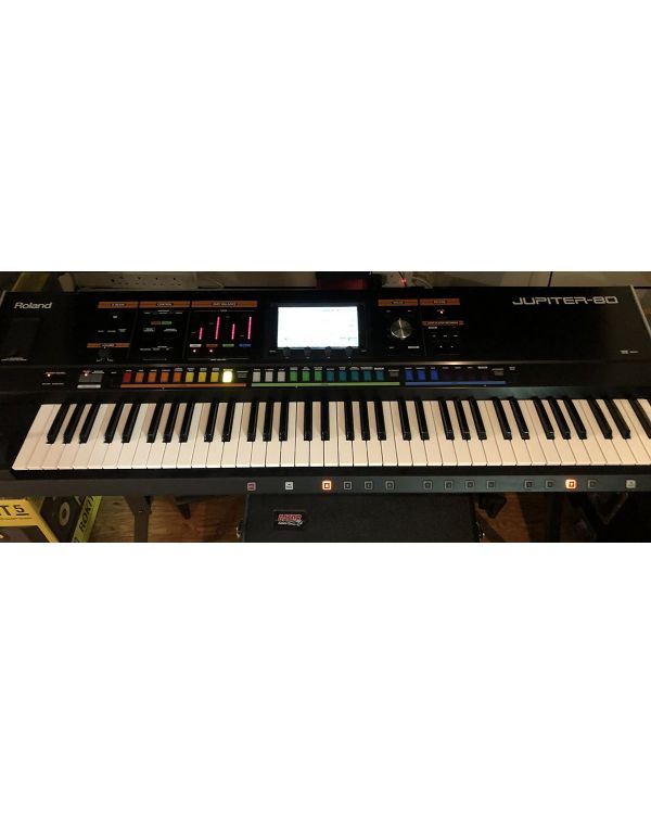Pre-Loved Roland Jupiter-80 76-Key Synthesizer