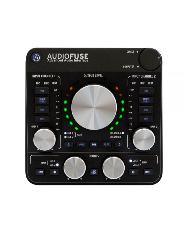 Arturia AudioFuse Rev 2 Portable Audio Interface