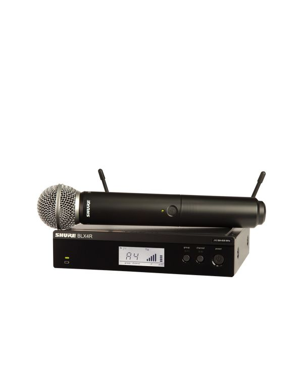 Shure BLX24RUK / SM58 Rackable Wireless Microphone System