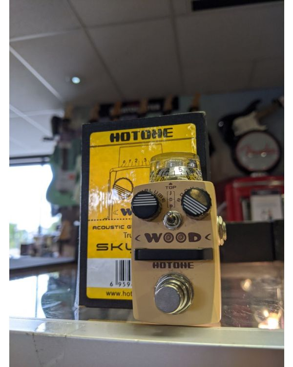 Pre-Loved Hotone Wood Acoustic Guitar Simulator Pedal