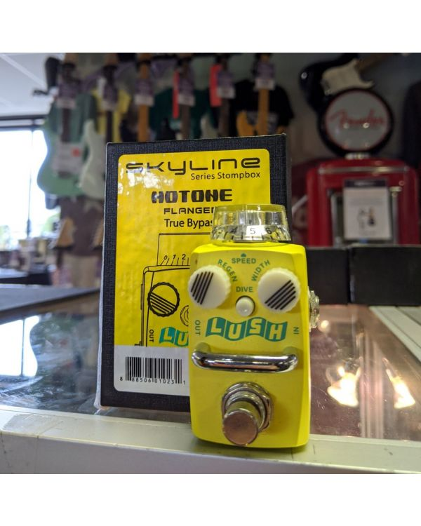 Pre-Loved Hotone Lush Analogue Flanger Pedal