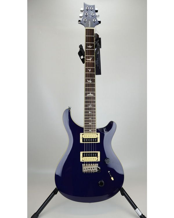 B Stock PRS SE Standard 24 Guitar, Translucent Blue