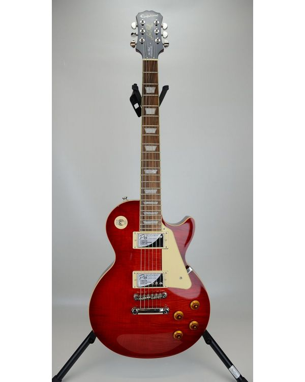 B-Stock Epiphone Les Paul Standard Plus-Top Pro, Blood Orange