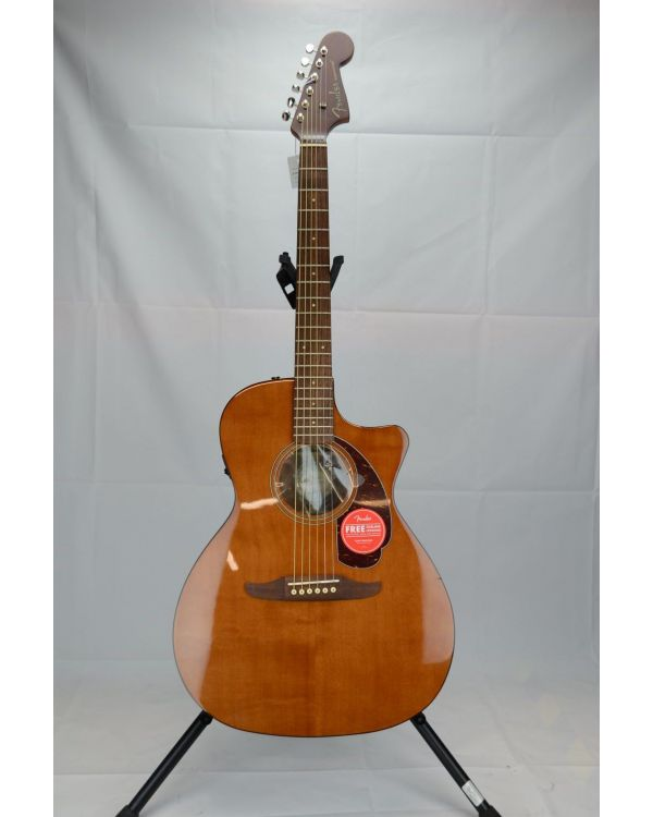 B-Stock Fender FSR Newporter Player Electro-Acoustic Guitar Mocha