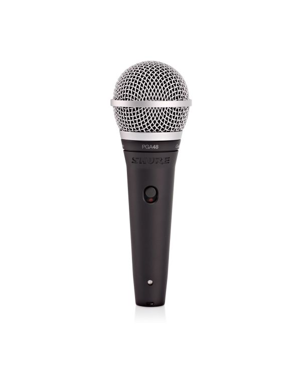 Shure PGA48 Microphone for Speech/Vocal with XLR Cable