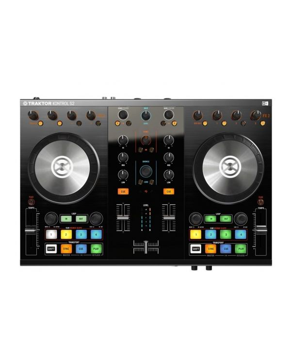 Ex-Demo Native Instruments Traktor Kontrol S2 MkII USB DJ Controller