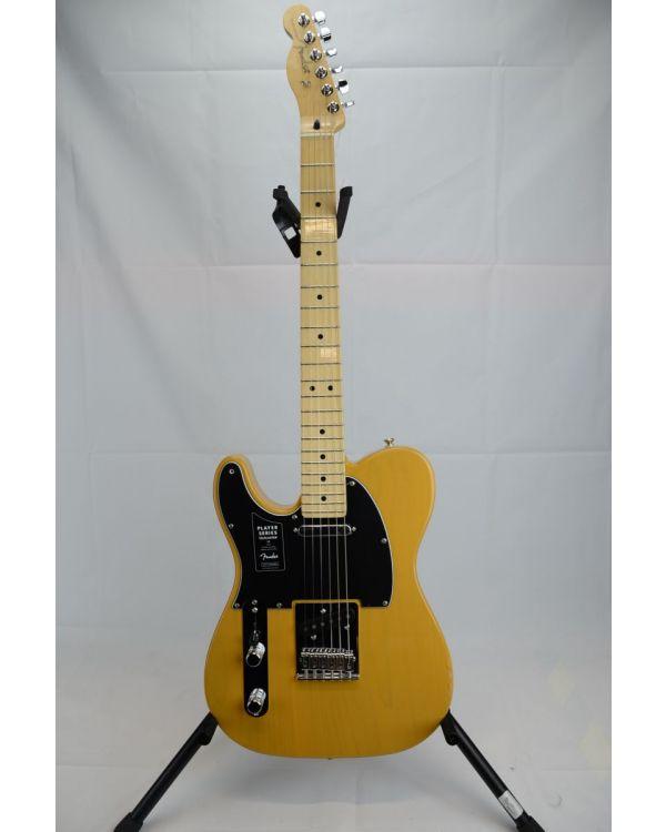 B-Stock Fender Player Telecaster LH MN Butterscotch Blonde