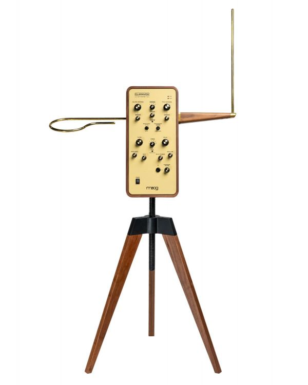 Moog Claravox Centennial Theremin with Stand