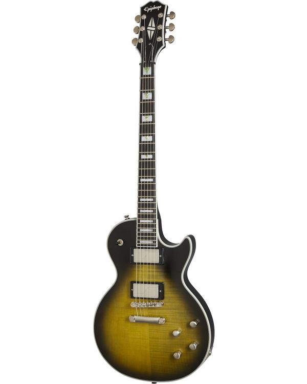 Epiphone Les Paul Prophecy, Olive Tiger Aged Gloss