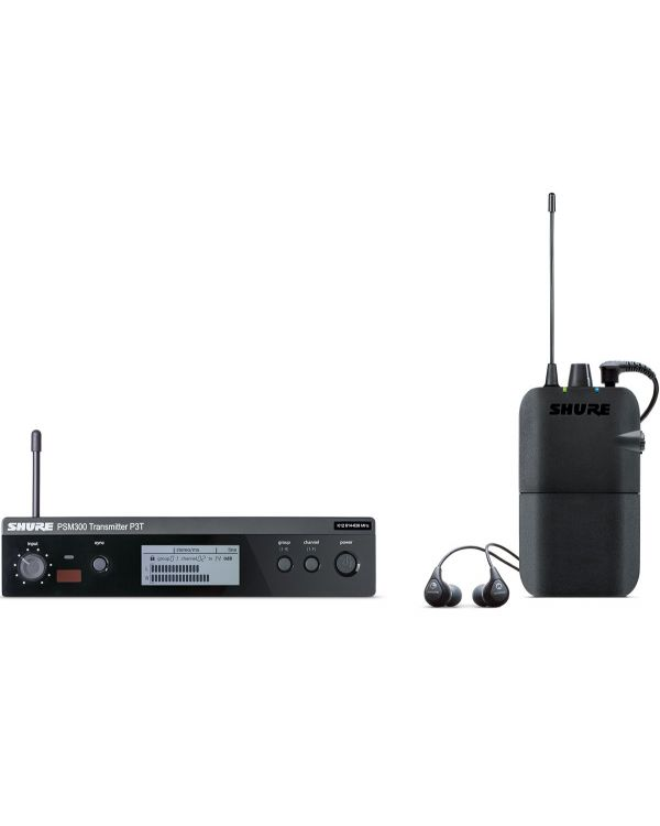 Shure PSM300 Wireless In-Ear Monitor System with SE112 Earphones