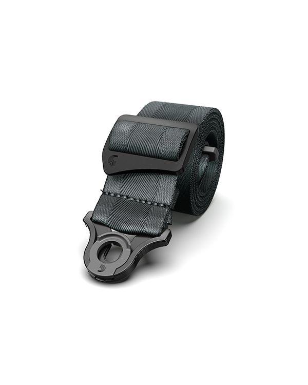 DAddario Auto Lock Guitar Strap Metal Grey