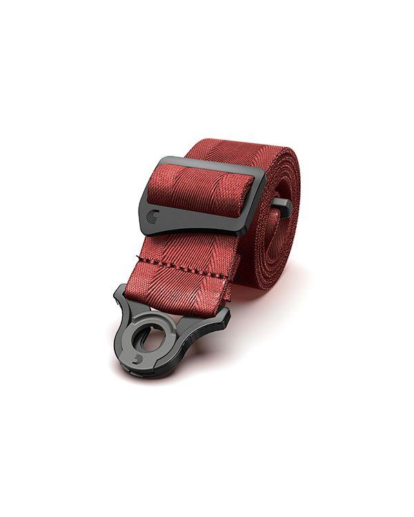 DAddario Auto Lock Guitar Strap Blood Red