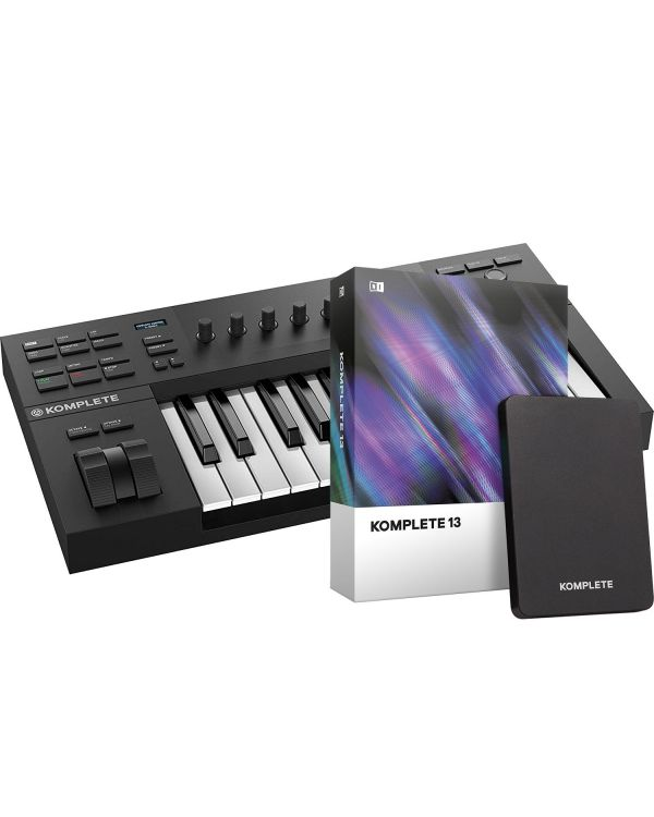 Native Instruments Komplete Kontrol A25 with Komplete 13