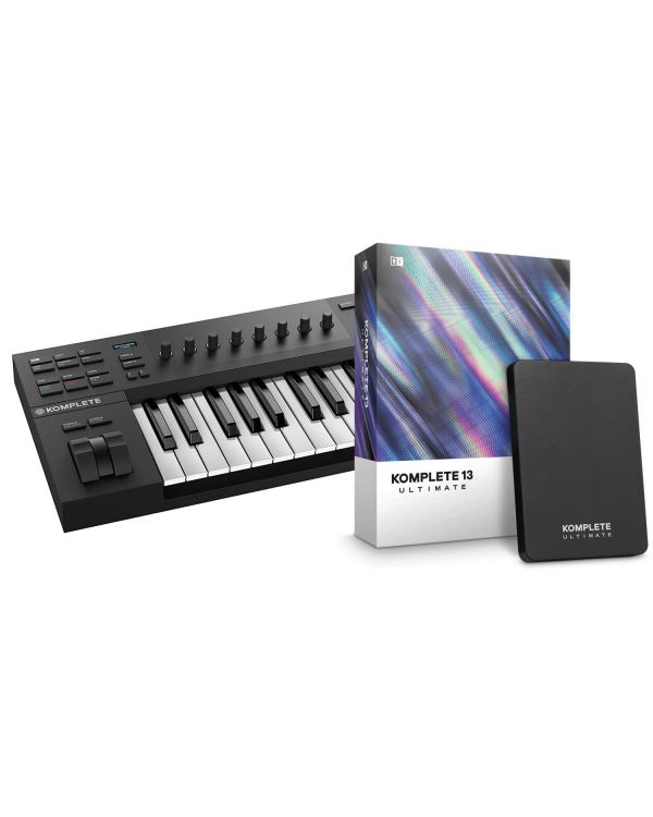 Native Instruments Komplete Kontrol A25 with Komplete 13 Ultimate