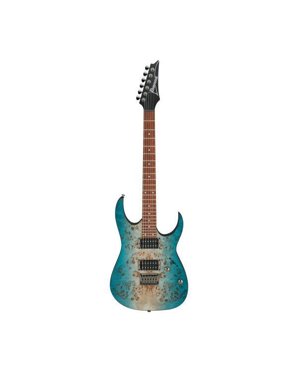 Ibanez RG421PB HH Electric Guitar Burl Top Caribbean Shoreline