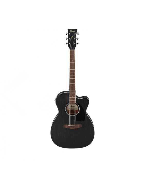 Ibanez PC14MHCE-WK PF Electro Acoustic Weathered Black