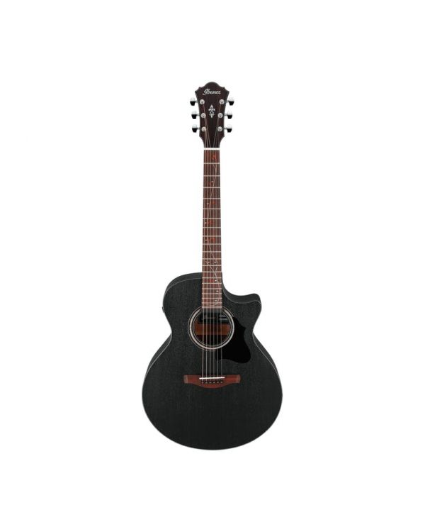 Ibanez AE295-WK AE Series Electro Acoustic Weathered Black Open Pore