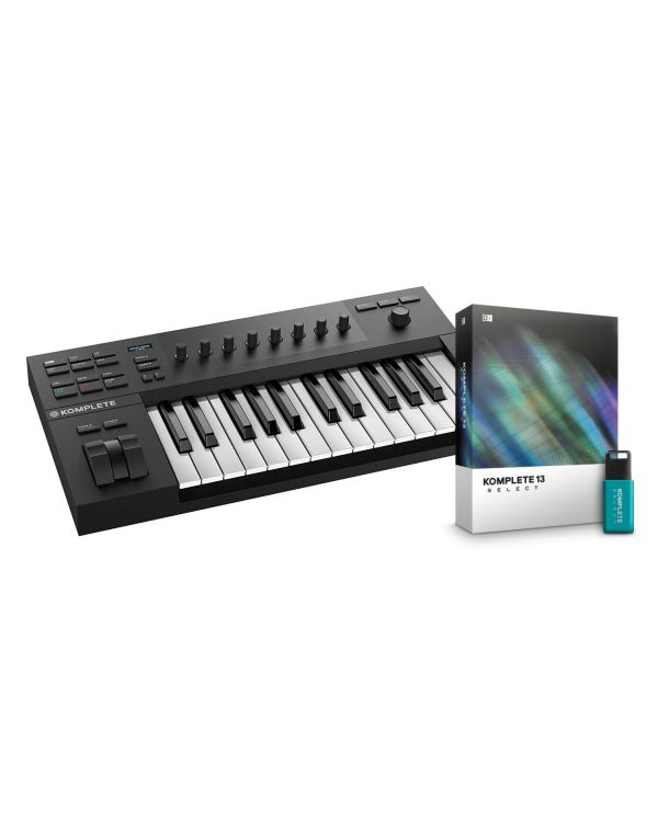 Native Instruments Komplete Kontrol A25 with Komplete 13 Select
