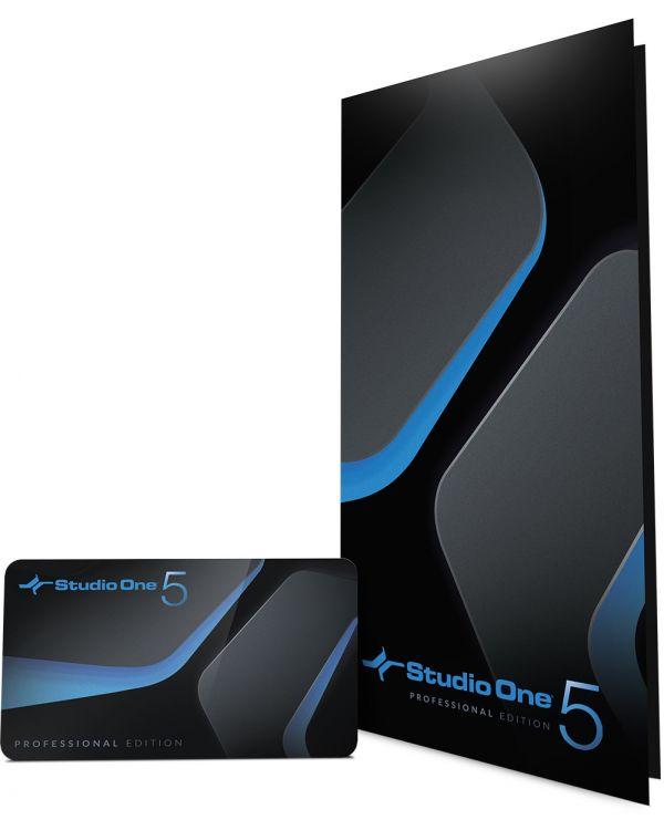 PreSonus Studio One 5 Professional Download Card