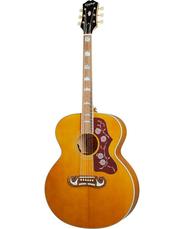 Epiphone Inspired By Gibson J-200, Aged Natural Antique Gloss