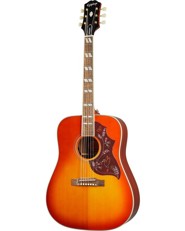Epiphone Inspired By Gibson Hummingbird, Aged Cherry Sunburst