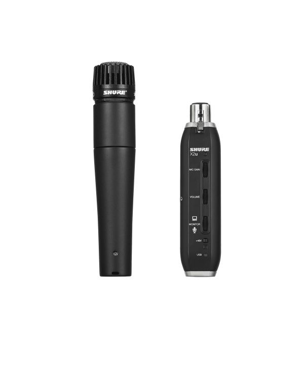 Shure SM57-X2u USB Digital Bundle