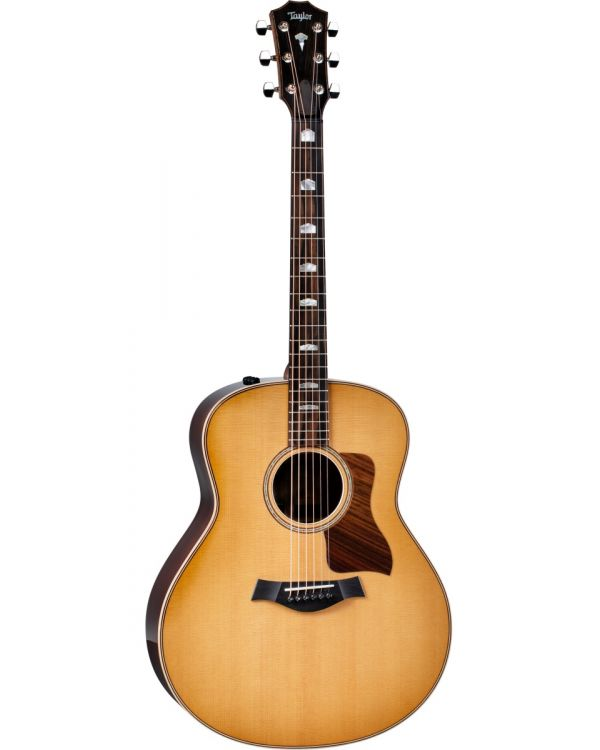 Taylor 818e Grand Orchestra Electro Acoustic V-Class Antique Blonde