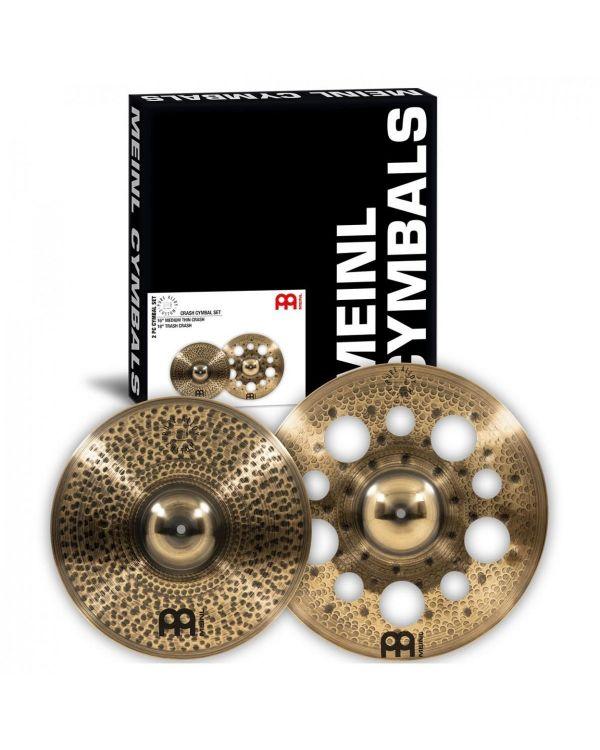 Meinl Pure Alloy Custom Crash Cymbal Set