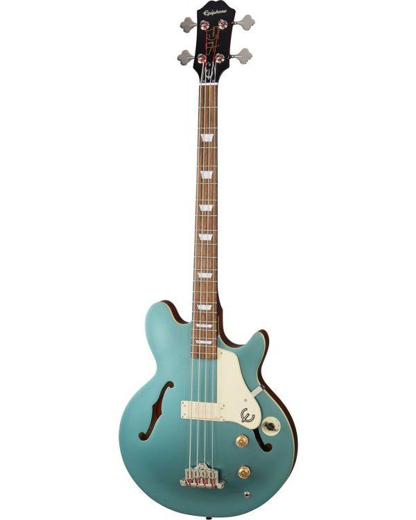 Epiphone Original Jack Casady Bass, Faded Pelham Blue