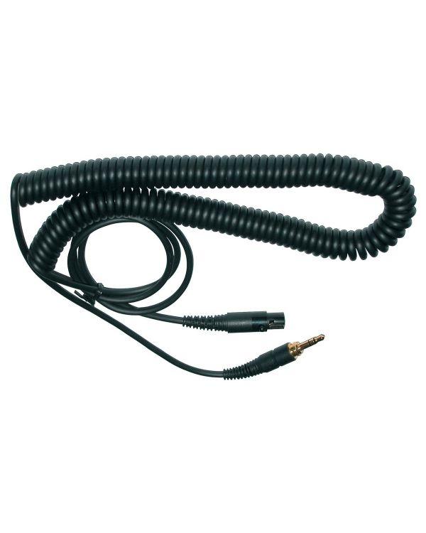 AKG EK500 S Coiled Headphone Cable 5m, 3.5mm to Mini XLR