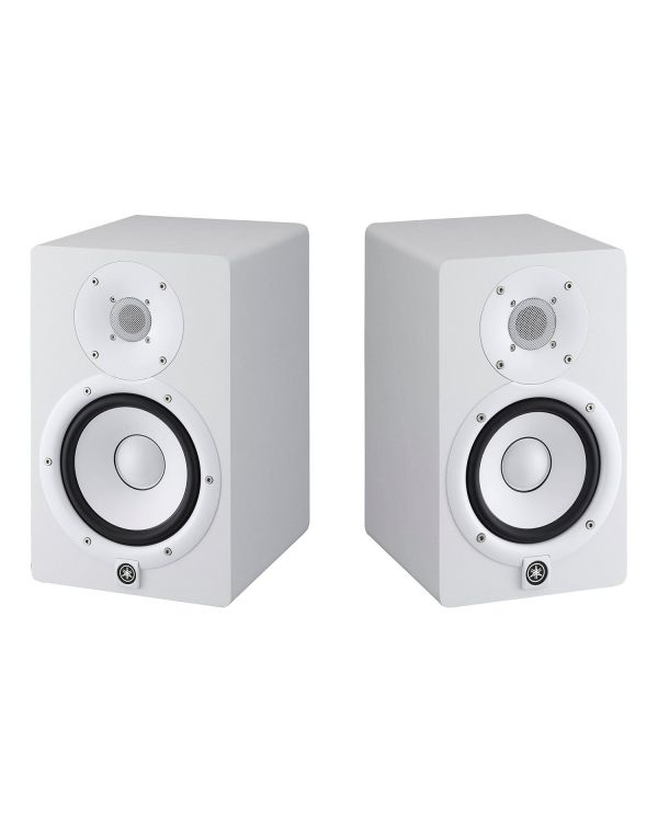 Yamaha HS7 Studio Monitor Pair White