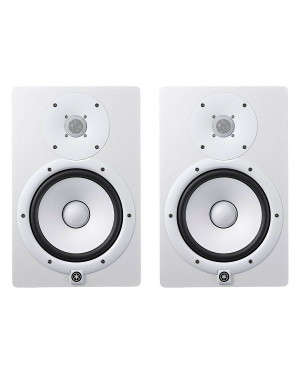 Yamaha HS8 Studio Monitor Pair White