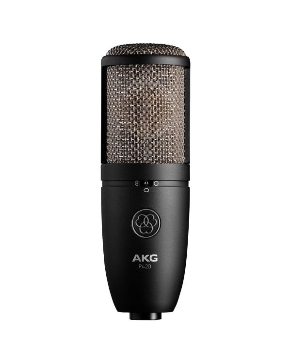 AKG P420 Multi Pattern Large Diaphragm Condenser Microphone