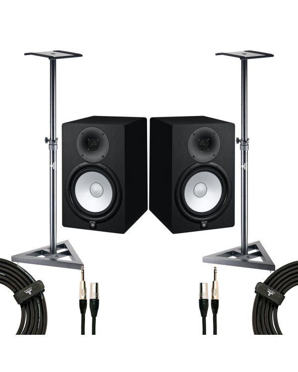 Yamaha HS8 Studio Monitor Studio Pack