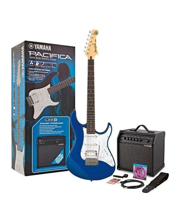 Yamaha Pacifica 012 Guitar Starter Pack, Dark Blue