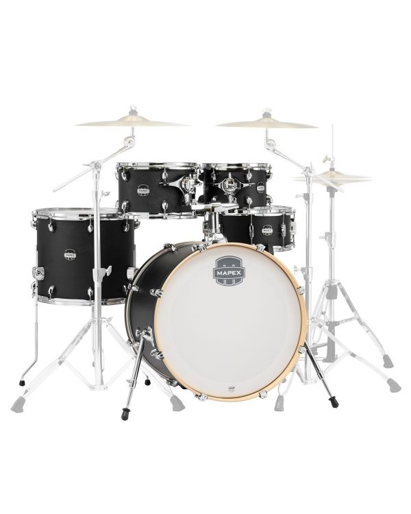 Mapex Mars Special Edition 5 Piece Shell Pack in Midnight Black