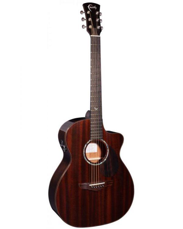Faith FG5HCE PJE Legacy Dark Roast Earth Electro-Acoustic Guitar