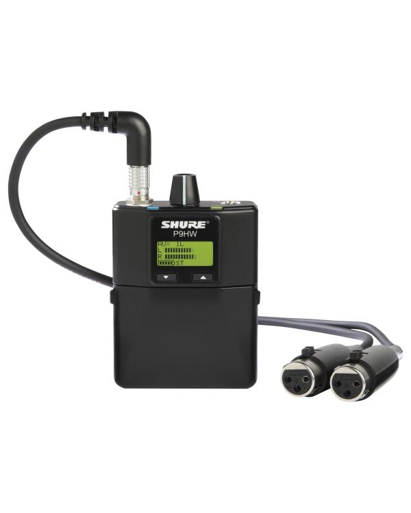 Shure P9HW Wired Personal Monitor Bodypack Receiver