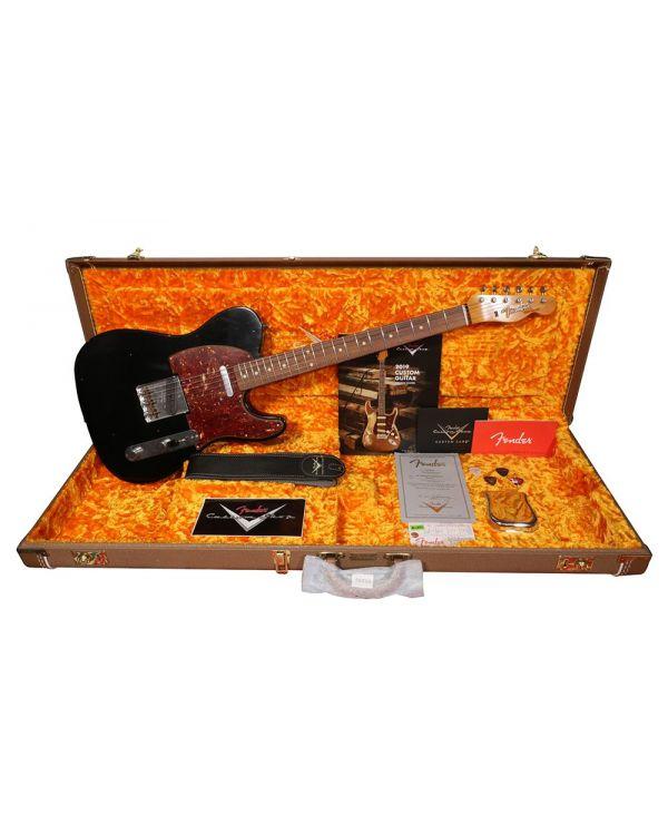 Fender Custom Shop 60 Telecaster Journeyman Relic RW, Black