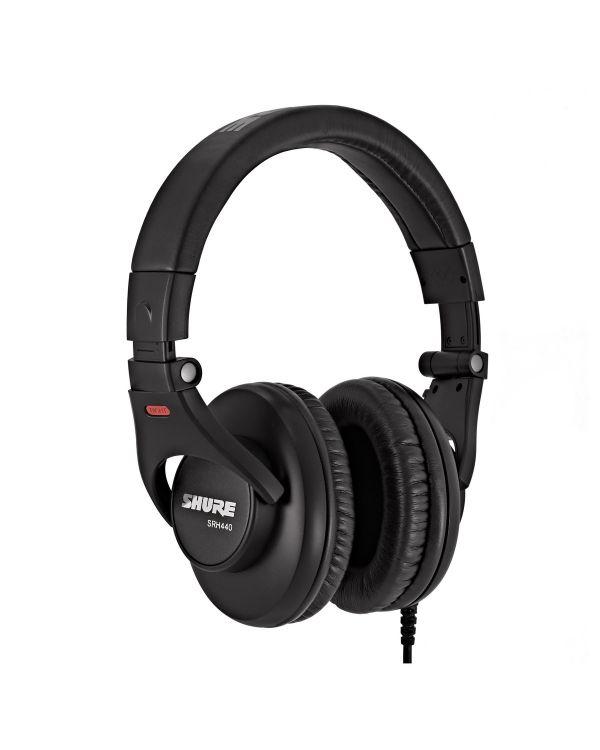 Shure SRH440-BK-EFS Professional Studio Headphones