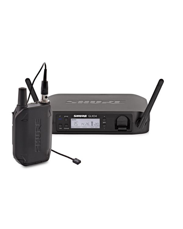 Shure GLXD14/93 Wireless System with WL93 Lavalier Microphone