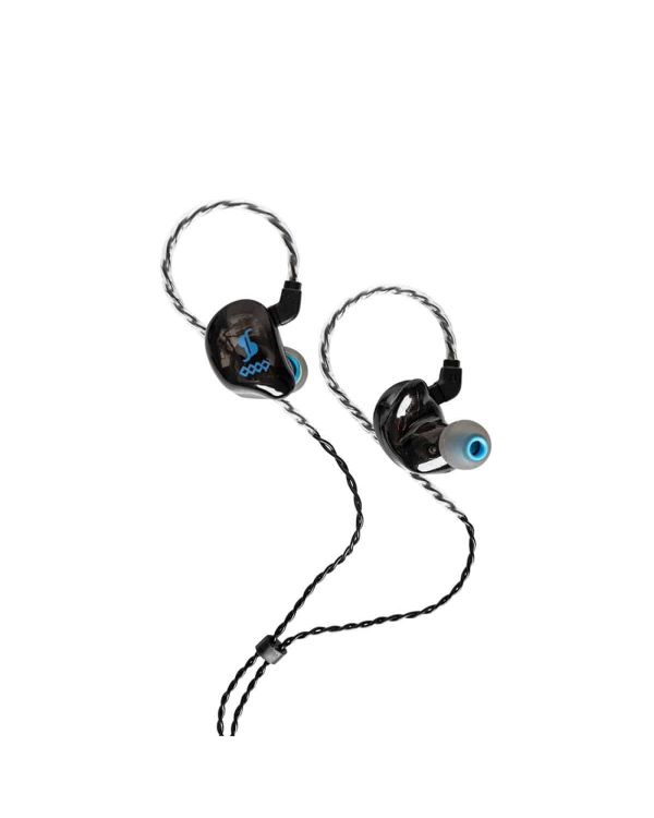 Stagg SPM-435 4 Driver In-Ear Stage Monitor Black