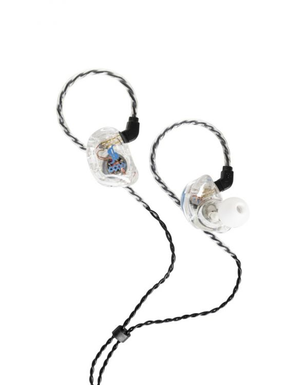 Stagg SPM-435 4 Driver In-Ear Stage Monitor Transparent