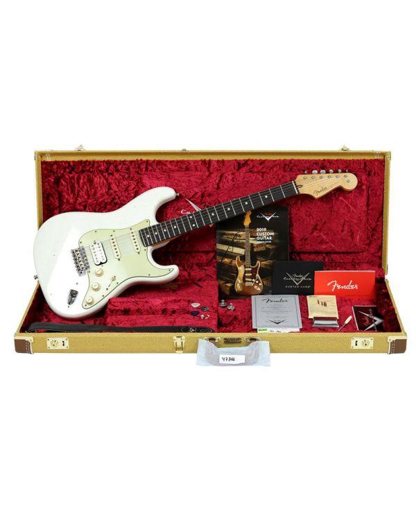 Fender Custom Shop Postmodern Strat HSS Relic RW Olympic White