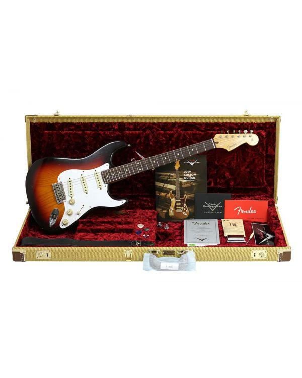 Fender Custom Shop Postmod Strat Relic RW Choc 3T Sunburst