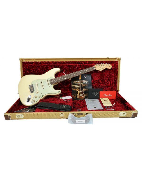 Fender Custom Shop Postmodern Strat RW, Relic Vintage White