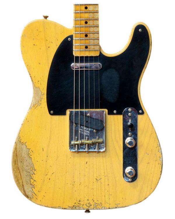 Fender Custom Shop 52 Tele Heavy Relic MN Butterscotch Blonde